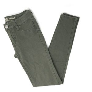American Eagle Outfitters Olive Jegging Pants